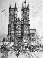 Westminster Abbey  by Mary Cossey