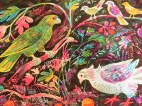 Still Life with Amazon Parrot  by Mark Hearld