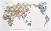 Money Map of the World - China  by Justine Smith