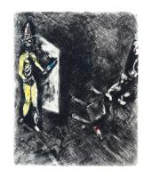 Death and the Unfortunate by Marc Chagall