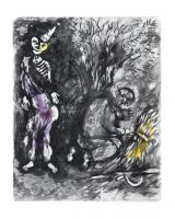Death and the Woodsman by Marc Chagall