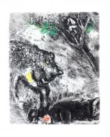 The Bear and the Two Companions by Marc Chagall