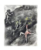 The Boy and the Schoolmaster by Marc Chagall