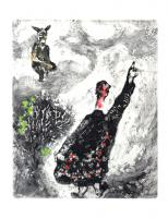 The Charlatan by Marc Chagall