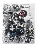 The Cobbler and the Financier by Marc Chagall