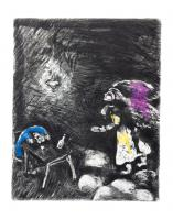 The Drunkard and his Wife by Marc Chagall