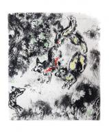 The Fox with his Tail Cut Off by Marc Chagall