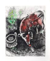 The Frog who would Grow as Big as the Bull by Marc Chagall