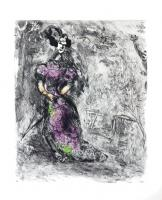 The Maid by Marc Chagall