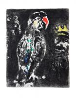 The Two Parrots, the King and his Son by Marc Chagall