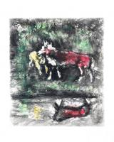 The Wolf and the Lamb by Marc Chagall