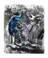 The Wolf and the Stork by Marc Chagall