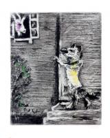 The Wolf, the Goat and the Kid by Marc Chagall