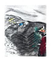 The Wolf Turned Shepherd by Marc Chagall