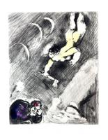 The Woodsman and Mercury by Marc Chagall