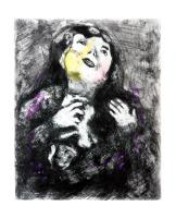 The Young Widow by Marc Chagall