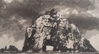 Bull Rock by Norman Ackroyd CBE, RA, ARCA, RE, MA