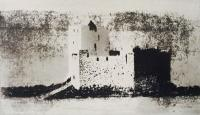 Castle Bay  by Norman Ackroyd CBE, RA, ARCA, RE, MA