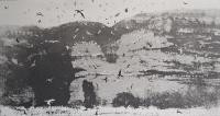 Crab Rocks by Norman Ackroyd CBE, RA, ARCA, RE, MA