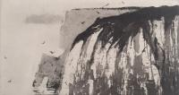 Flamborough from Bempton by Norman Ackroyd CBE, RA, ARCA, RE, MA