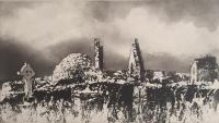 Inishmurray by Norman Ackroyd CBE, RA, ARCA, RE, MA