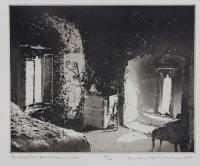 Interior at Oranmore by Norman Ackroyd CBE, RA, ARCA, RE, MA