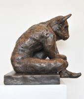 Minotaur (Sculpture) by Neil Anderson