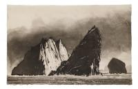 Stac an Armin- Evening by Norman Ackroyd CBE, RA, ARCA, RE, MA