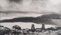 On High Island by Norman Ackroyd CBE, RA, ARCA, RE, MA