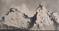 Skellig - North Landing by Norman Ackroyd CBE, RA, ARCA, RE, MA