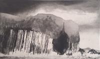 Staffa by Norman Ackroyd CBE, RA, ARCA, RE, MA