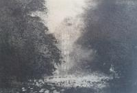 Cawdrey Old Hall by Norman Ackroyd CBE, RA, ARCA, RE, MA