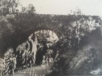 Dulsie Bridge by Norman Ackroyd CBE, RA, ARCA, RE, MA