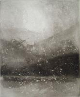 Evening Snow - Coniston  by Norman Ackroyd CBE, RA, ARCA, RE, MA