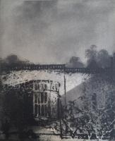 Lacock by Norman Ackroyd CBE, RA, ARCA, RE, MA