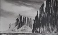 Shiant Garbh - Eilean by Norman Ackroyd CBE, RA, ARCA, RE, MA