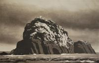 Sula Sgeir by Norman Ackroyd CBE, RA, ARCA, RE, MA