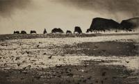 The Galtas - Shiant by Norman Ackroyd CBE, RA, ARCA, RE, MA