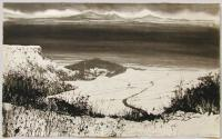 From Sutton Bank - Vale of York by Norman Ackroyd CBE, RA, ARCA, RE, MA