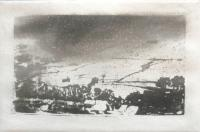 January in Wharfdale by Norman Ackroyd CBE, RA, ARCA, RE, MA