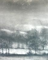 Winter Evening-Windamere by Norman Ackroyd CBE, RA, ARCA, RE, MA