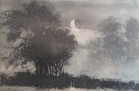 Windrush Moonrise by Norman Ackroyd CBE, RA, ARCA, RE, MA