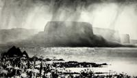 Benbulben from Inishmurray by Norman Ackroyd CBE, RA, ARCA, RE, MA