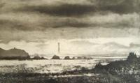Bishops Rock by Norman Ackroyd CBE, RA, ARCA, RE, MA