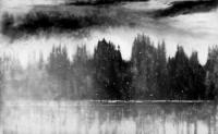 Loch Awe in Winter by Norman Ackroyd CBE, RA, ARCA, RE, MA