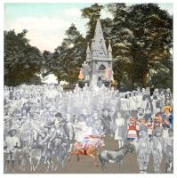 Regents Park - The Runaway Donkeys ( London Suite ) by Sir Peter Blake