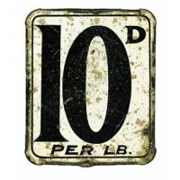 10d per lb by Sir Peter Blake