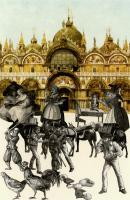 An Altercation by Sir Peter Blake