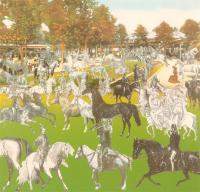The Horseshow - Vichy Trio by Sir Peter Blake
