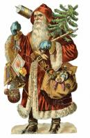 Found Art - Santa by Sir Peter Blake